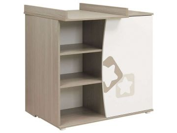 Commode 1 Porte Plan A Langer Amovible Noe Conforama France Locker Storage Home Decor Shelving
