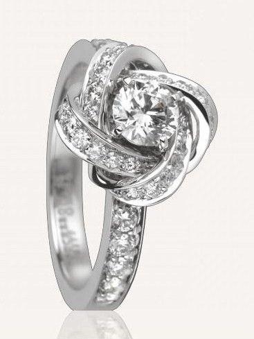 bague diamant solitaire boucheron