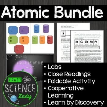 Atomic Bundle Atomic Structure, Ions, Isotopes, Periodic Table - best of periodic table symbols worksheet