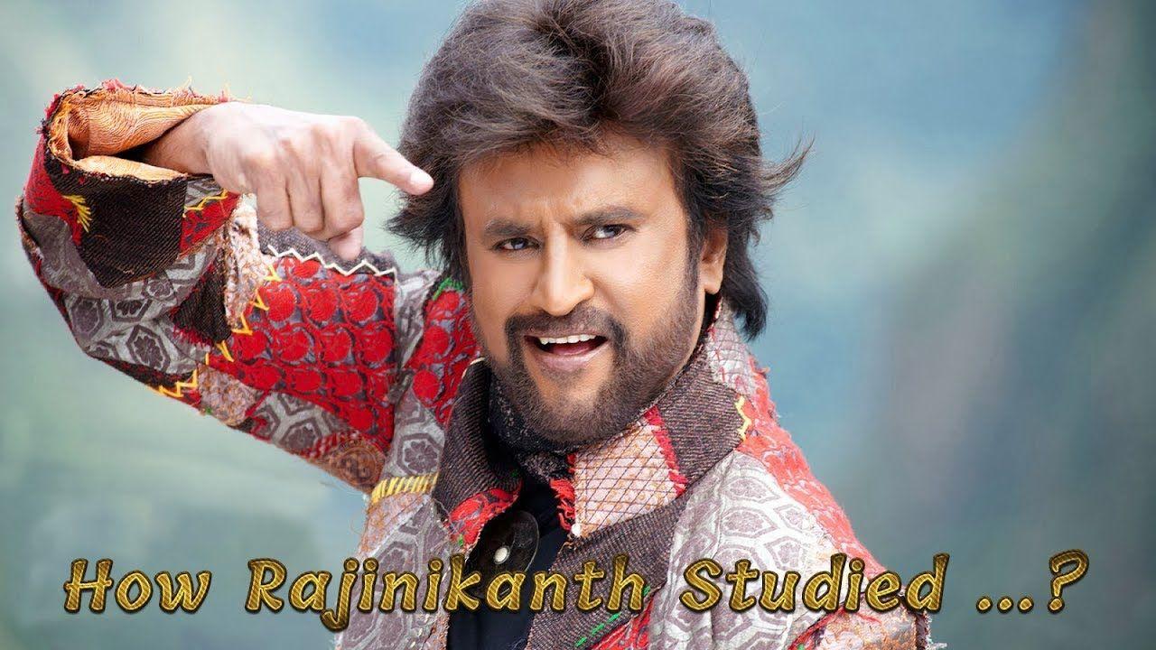 How Rajinikanth Studied...? Actor, Film, South film