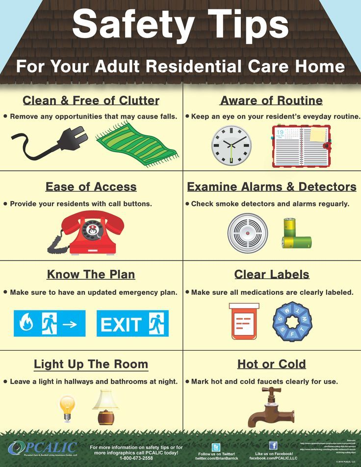 Make your elderly parent's home more safe or move your