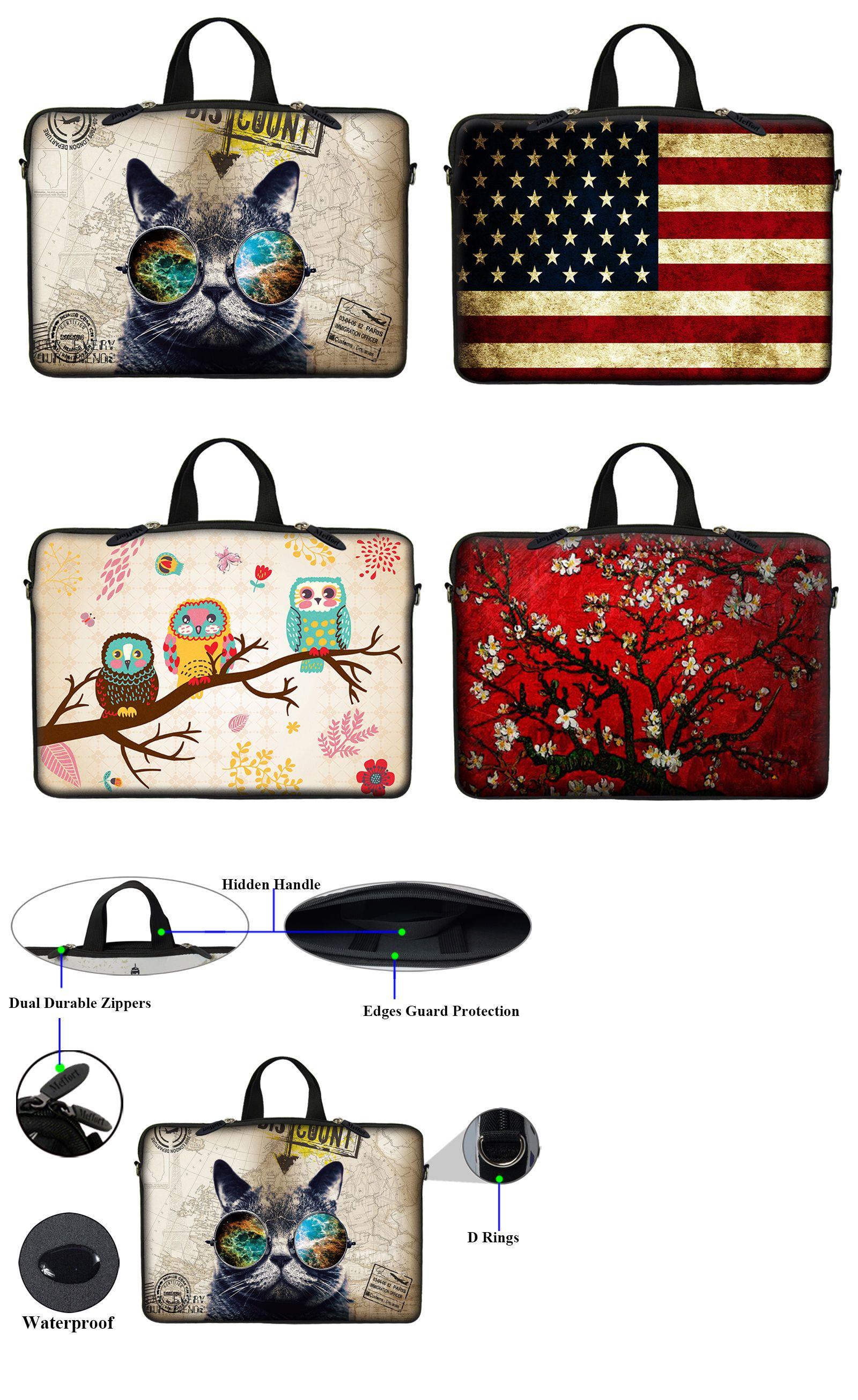 Neoprene Laptop Computer Case Bag With Hidden Handle Fit 10 Inch To 17 3 Inch Laptop Computer Case Best Laptop Cases 17 Inch Laptop Bag