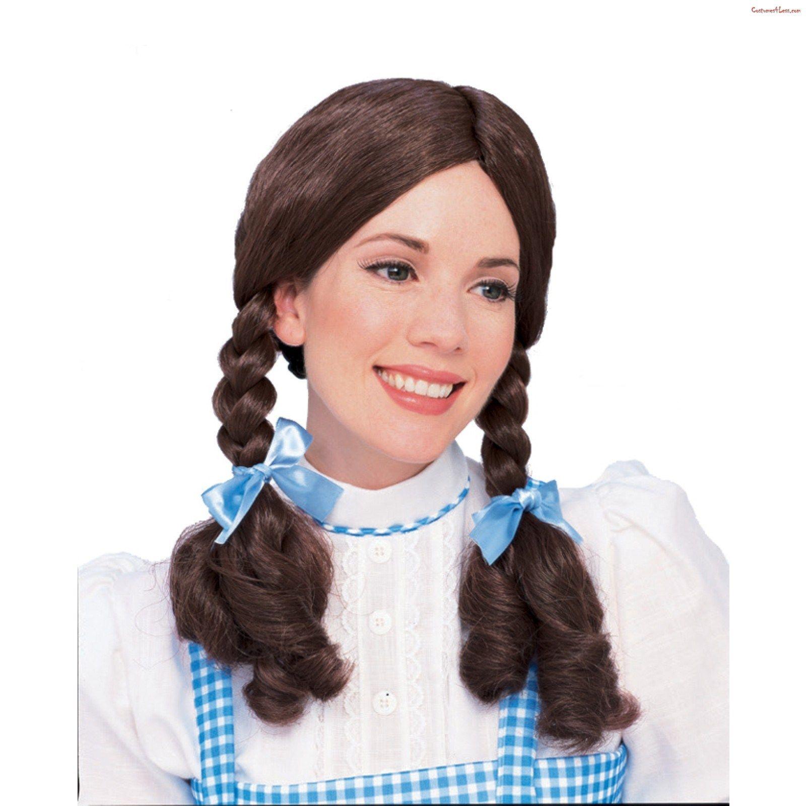 Wizard Of Oz Dorothy Wig Oz Wizard Wig Wizard Of Oz Dorothy Costume Dorothy Costume Costume Wigs