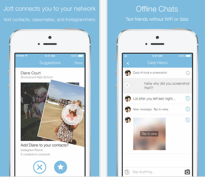 Messaging App Jott Is Blowing Up Among Junior High And