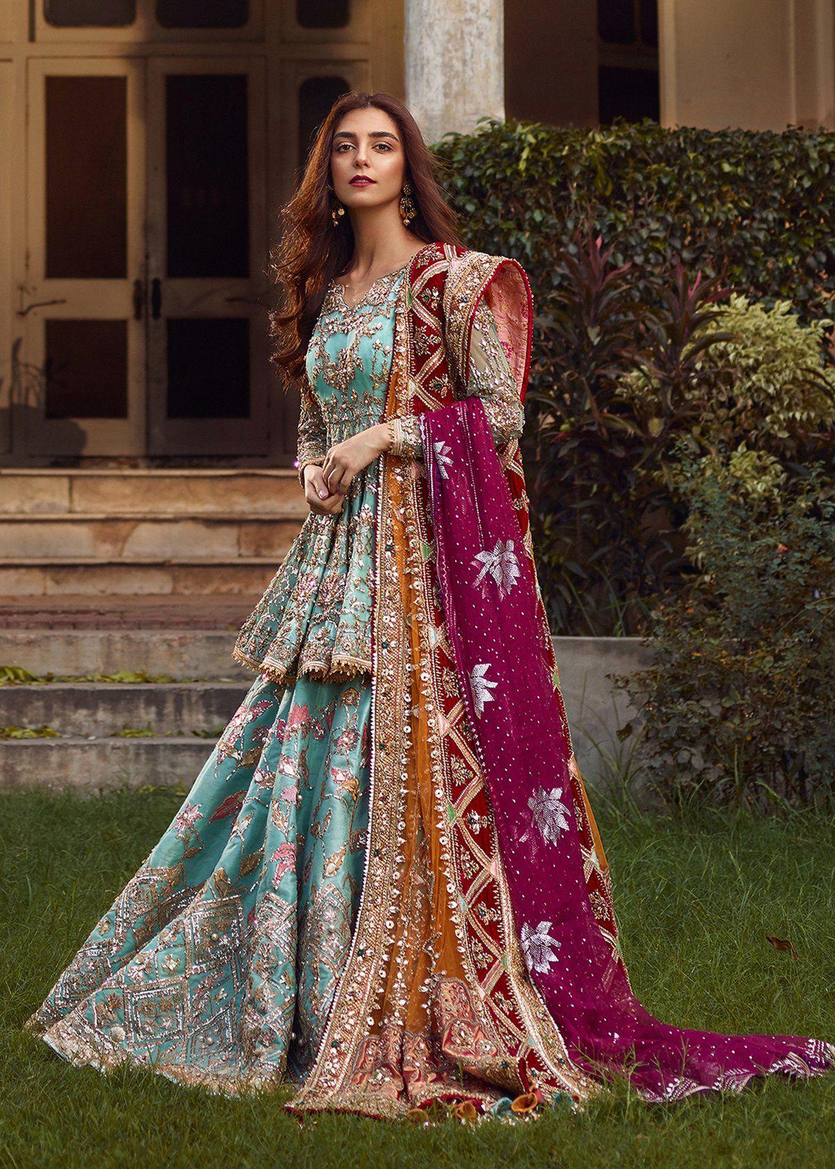 Ronaq Jahan Pakistani Bridal Couture Bridal Outfits Shadi Dresses