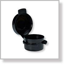 Round Hinged Jar Black Perfectly Posh Business Perfectly Posh Jar