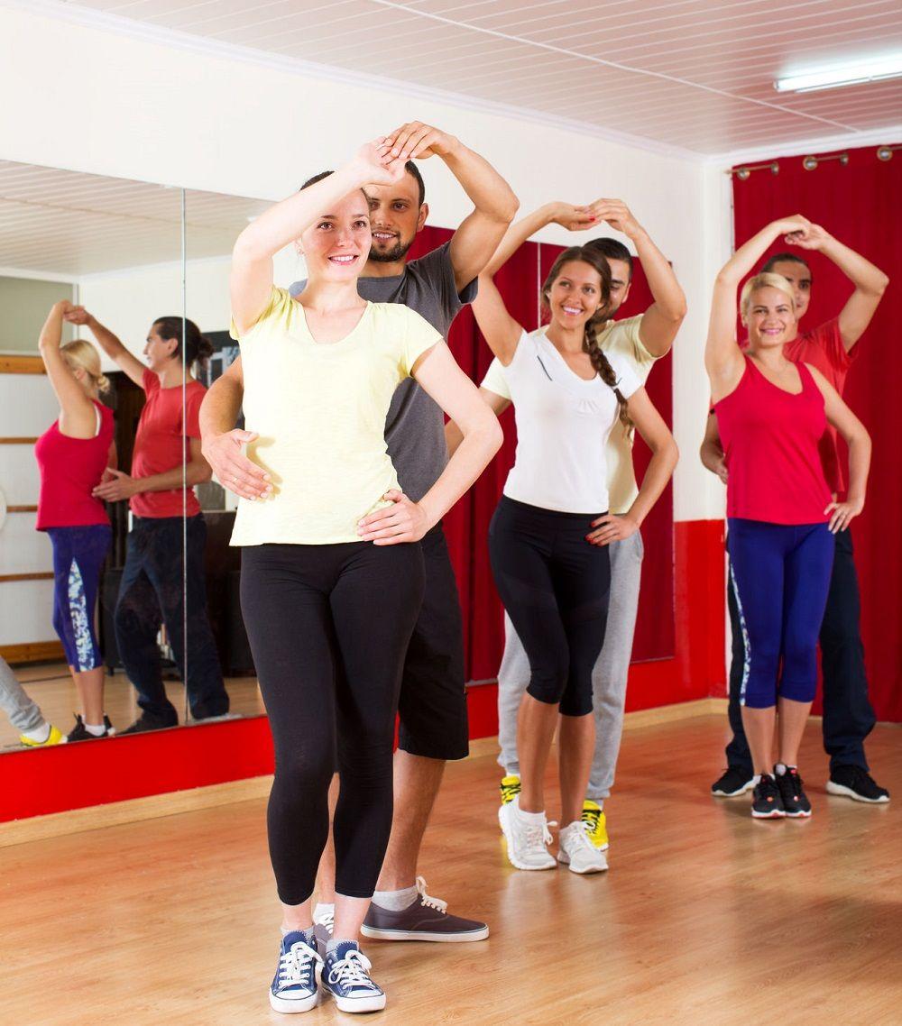 Weight loss salsa dancing