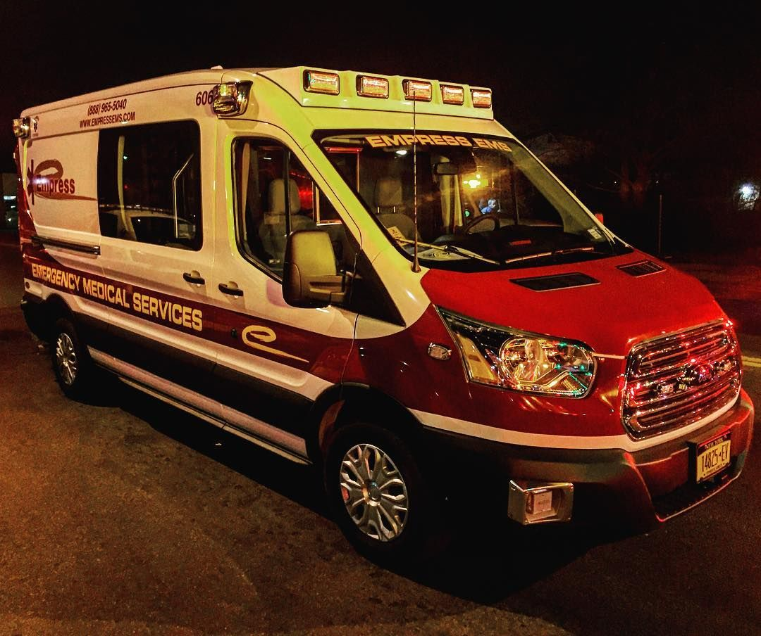 2015 Medix Ford Transit Type Ii Ambulance: Brand New @EmpressEms Ford Transit Diesel Ambulance On