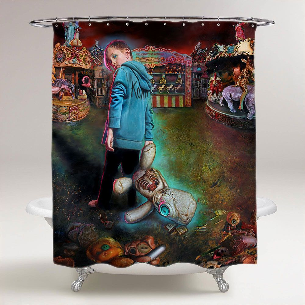 Korn The Serenity Of Suffering Bathroom Shower Curtain Price