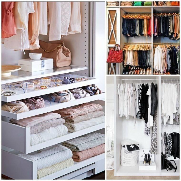 C mo organizar tu vestidor de manera eficiente y bonita - Como ordenar tu armario ...