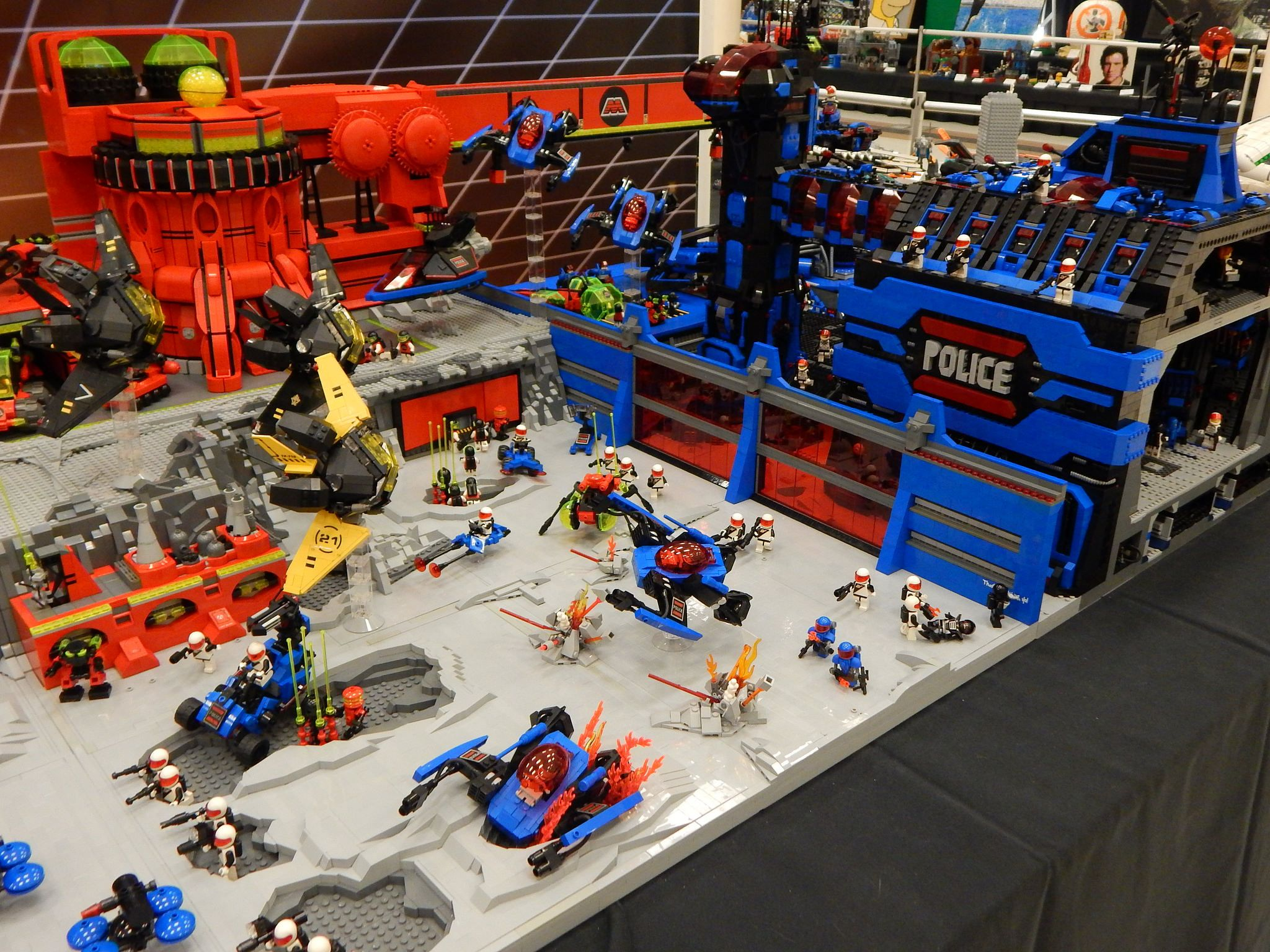 Https Flic Kr P Nekrwp Brickcon 2016 Lego Space Station Lego Space Classic Lego