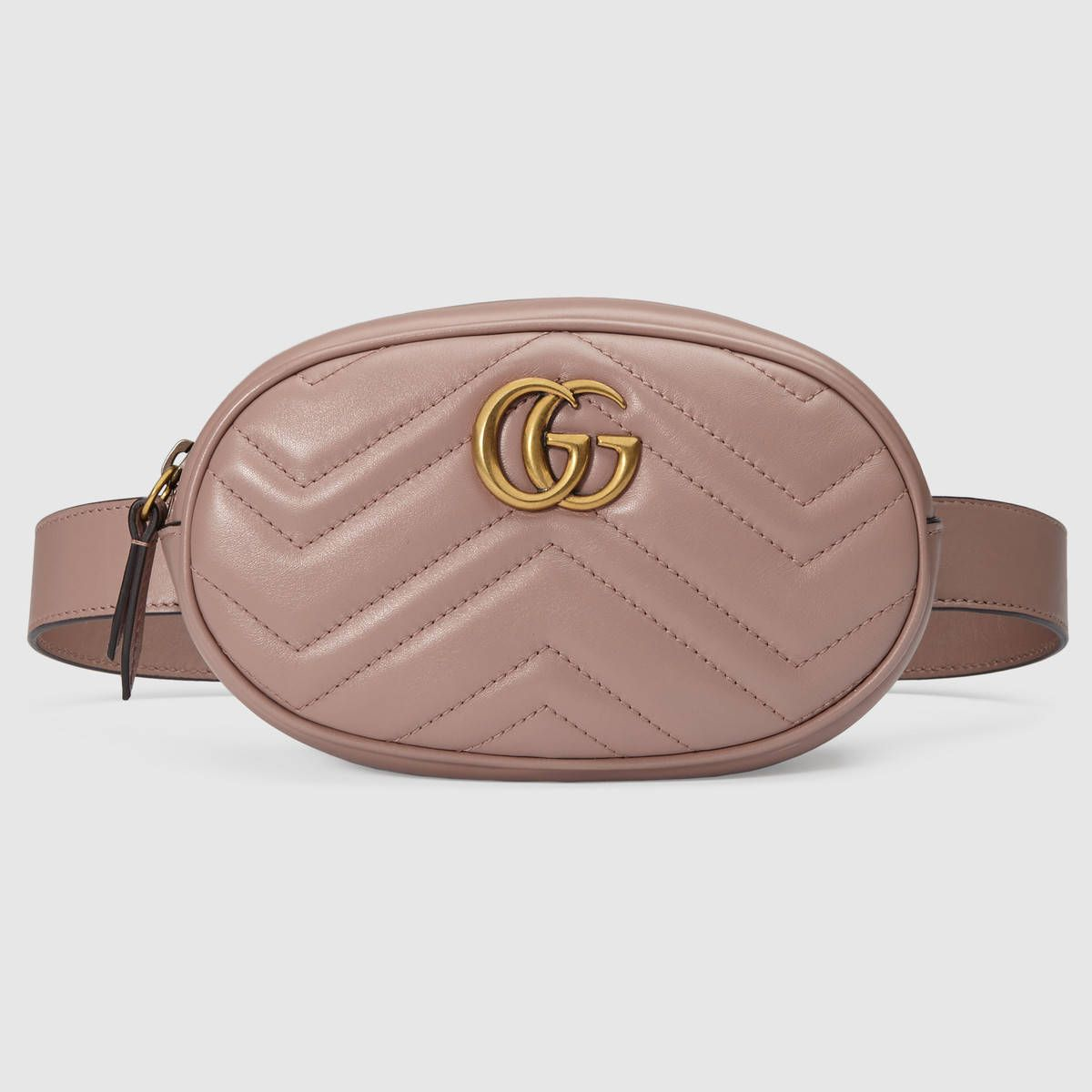 b8f7702c3db GG Marmont matelassé leather belt bag in 2019