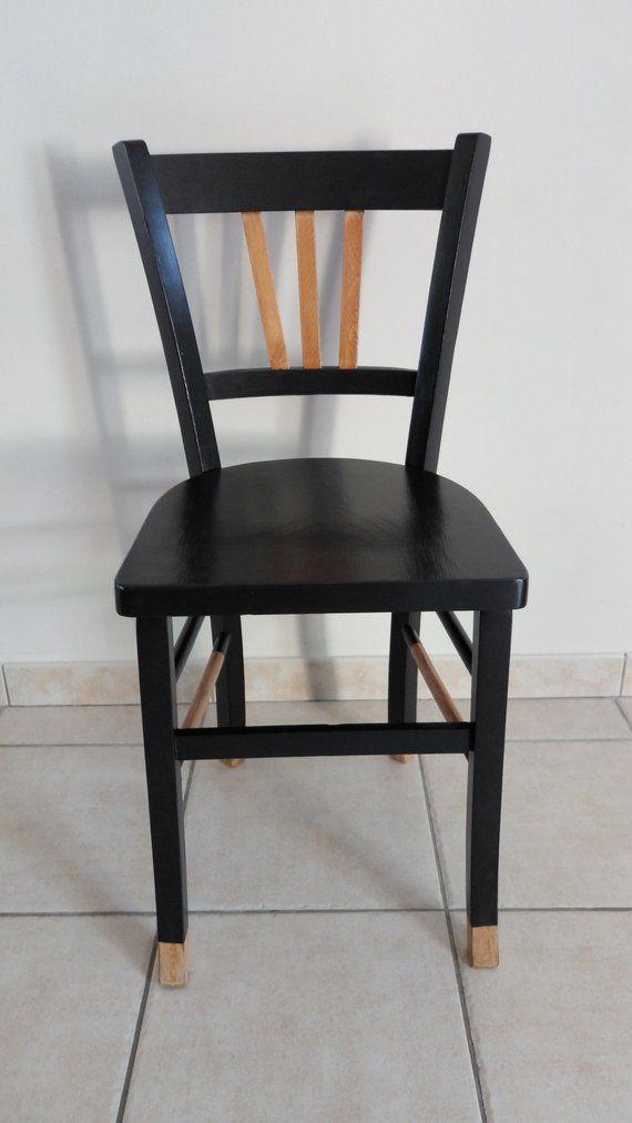 Ancienne chaise bistrot type baumann ou thonet - Chaise bistrot ancienne baumann ...