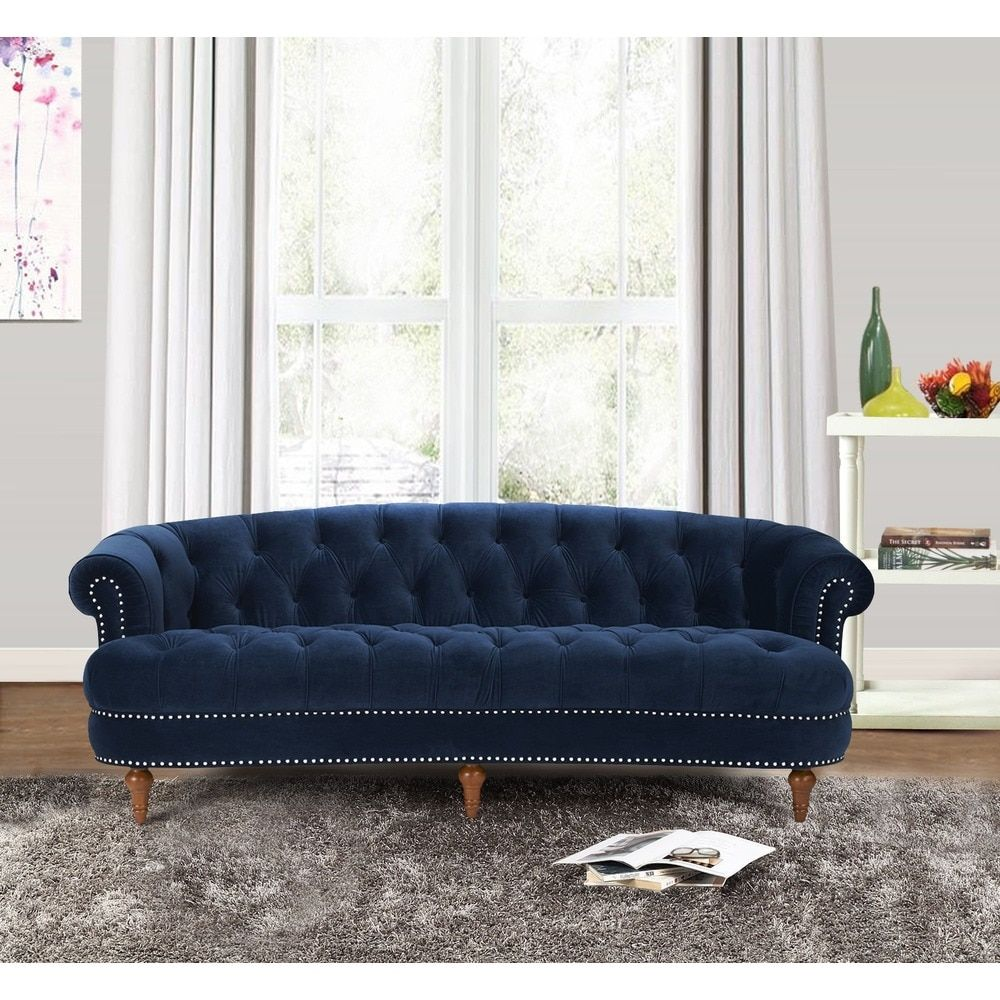 Jennifer Taylor La Rosa Chesterfield Sofa   Free Shipping Today    Overstock.com   17191332   Mobile