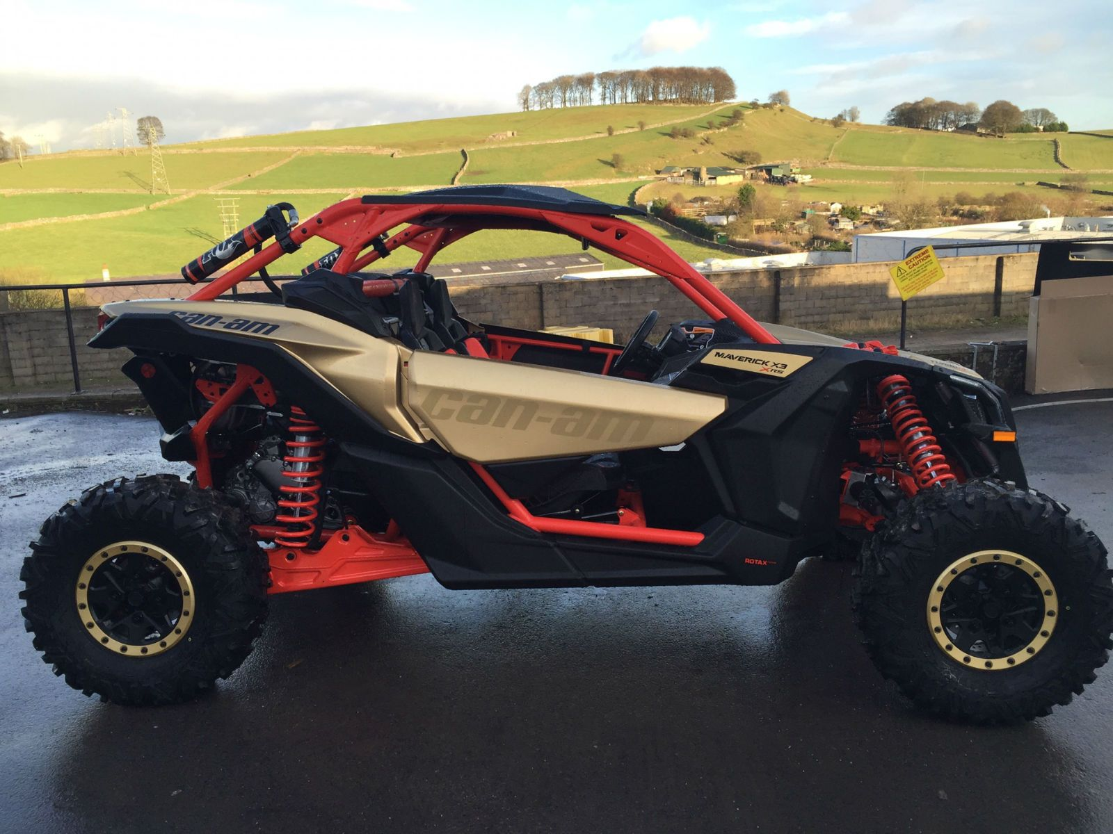 new can am maverick x3 x rs 2017 model road legal off road vehicle buggy ssv ebay cars. Black Bedroom Furniture Sets. Home Design Ideas