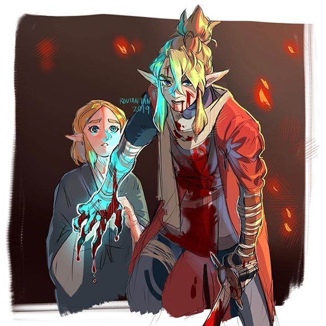 Wolf Seemed Too Calm Finding A New Arm I Feel Link Would Be