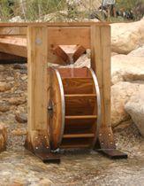 Etonnant Water Wheel Garden Feature