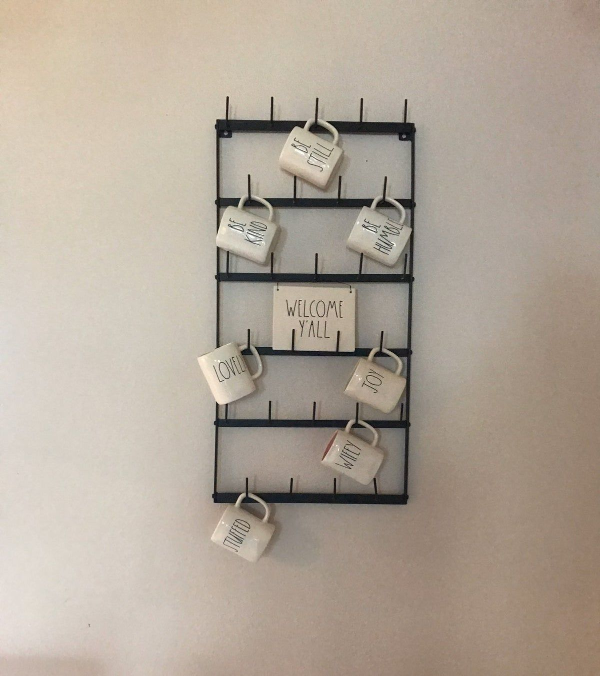 wall mug rack