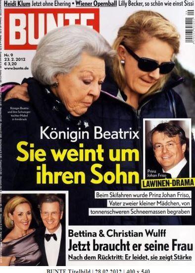 2012: Königin Beatrix und Mabel von Holland