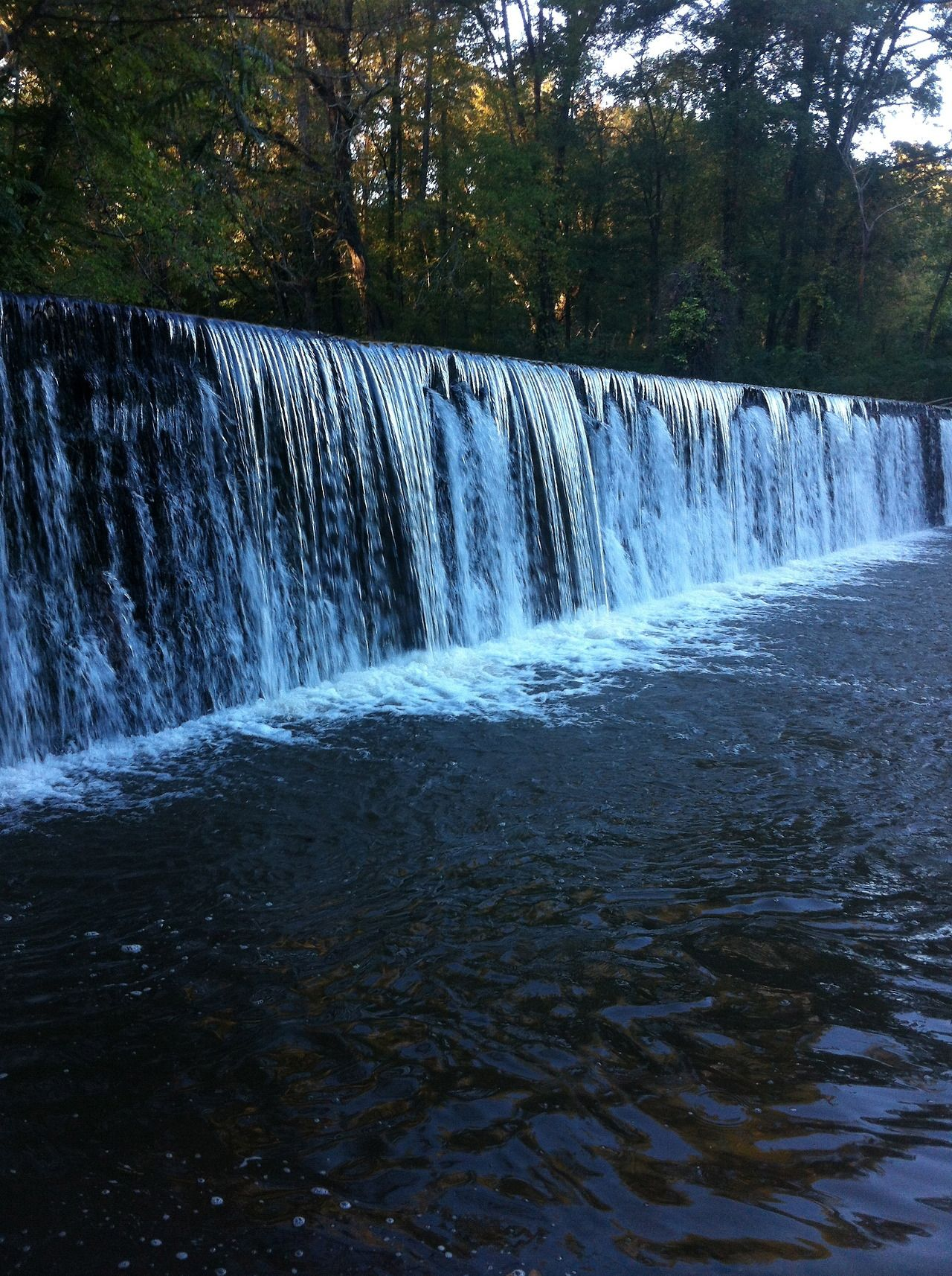 17.) Swim in the dam off of Macon Highway This dam was originally used to power the abandoned thread mill that neighbors it. The mill is als...