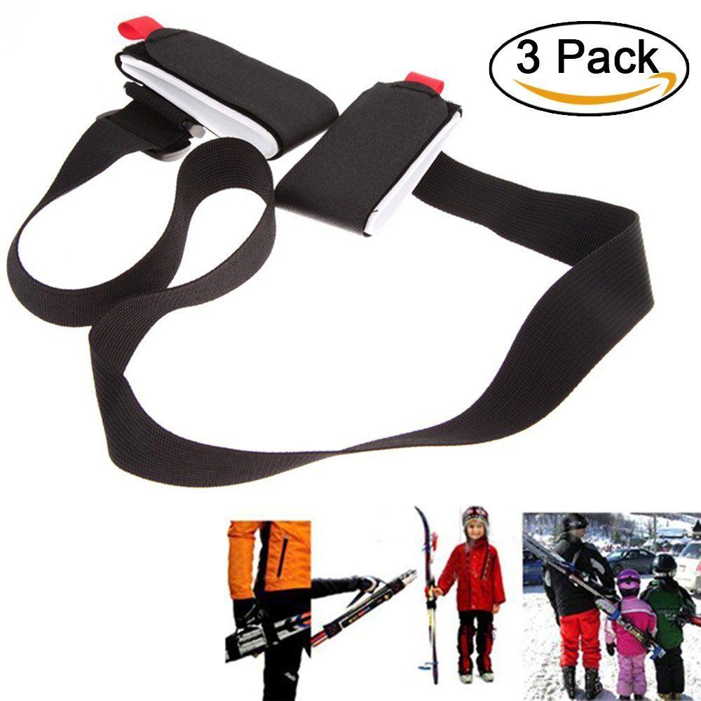 Porte Ski Dorsal Bandoulière Réglable Pour Pack Ski Système De - Porte ski