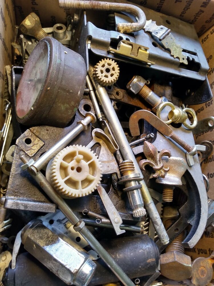 Steampunk Vintage Industrial Machine Metal Art