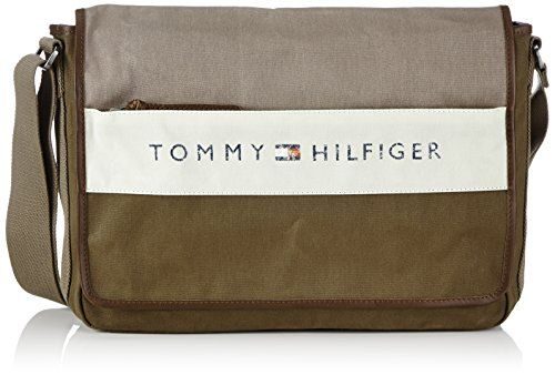 Herren Umhängetasche beige Tommy Hilfiger