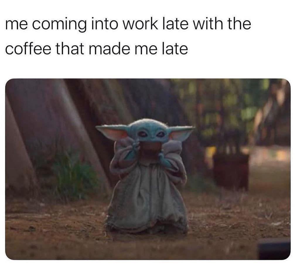 Baby Yoda On Instagram I M Not Sorry For More Follow Baby Yodamemes Babyyoda Yoda Starwars Memes Cute Starwarsmemes B Yoda Meme Yoda Funny Yoda
