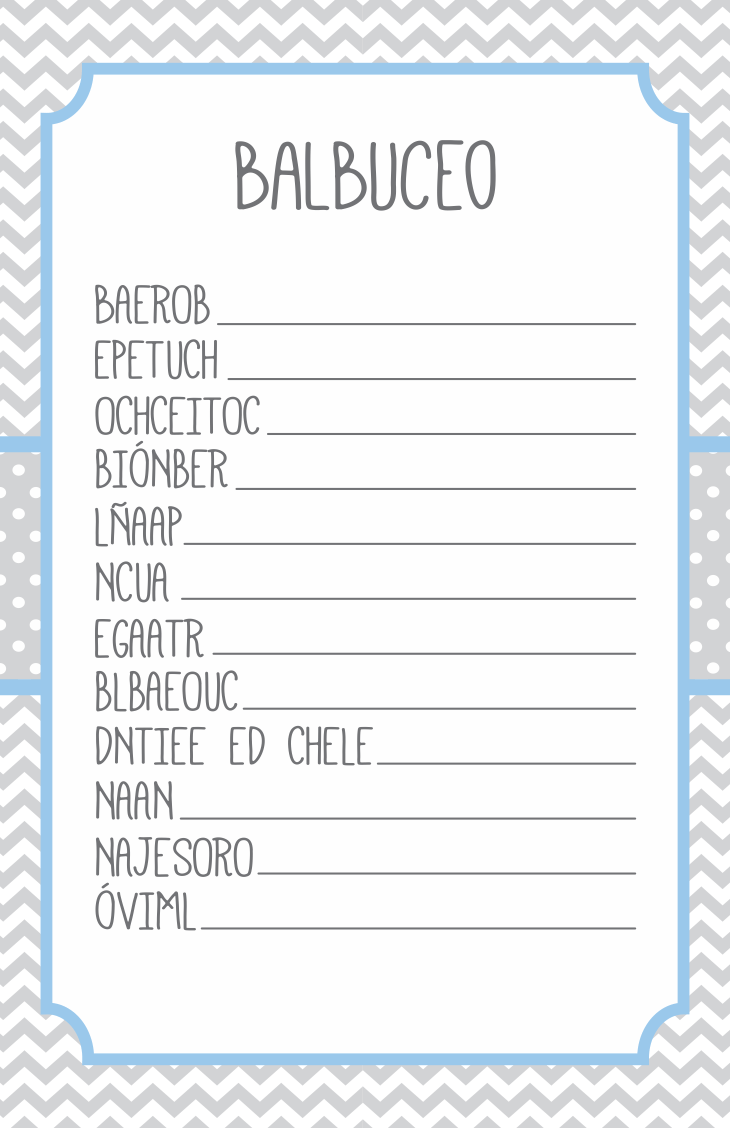 5 Juegos Para Baby Shower Baby Boy Pinterest Babyshower