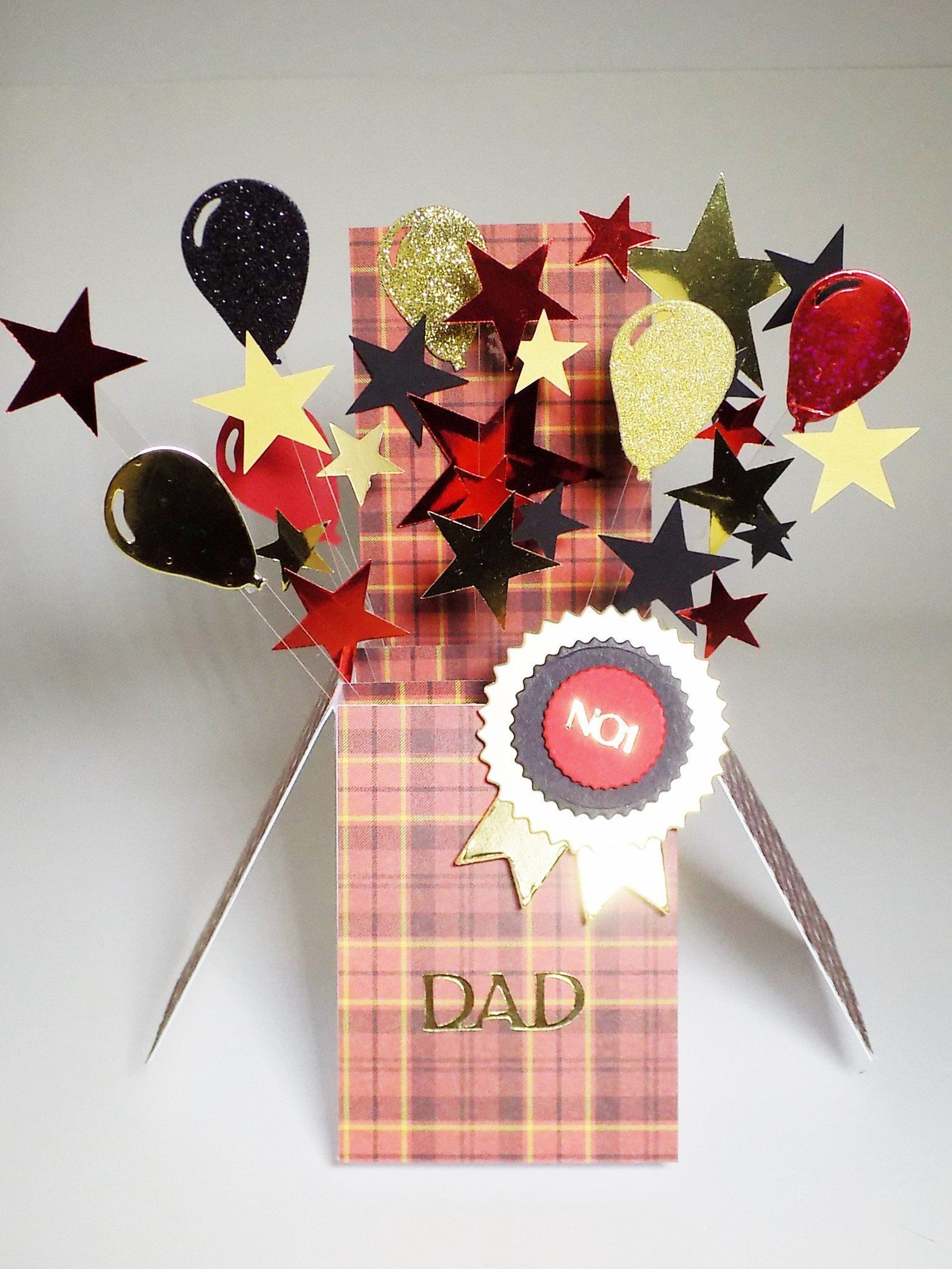 Dads birthday thank you greetings fathers day handmade