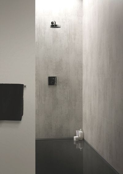 r novation salle de bain douche sans joint et sans carrelage stratifi r novation salle de. Black Bedroom Furniture Sets. Home Design Ideas