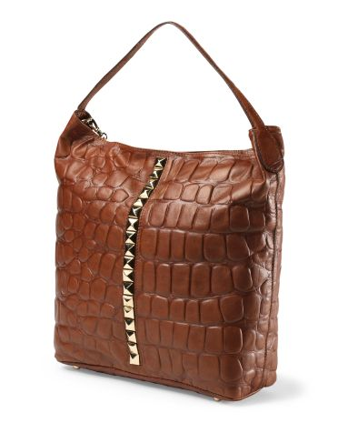 Dimoni Leather Hobo Handbag 149 99 Tj Ma