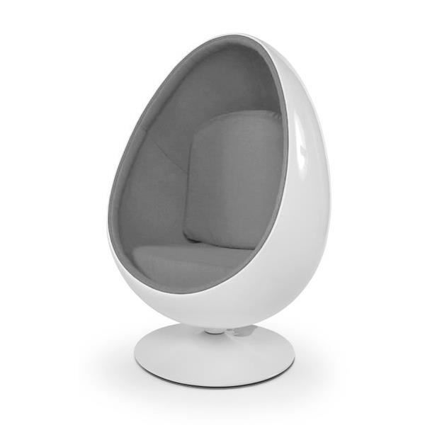 Fauteuil Oeuf Ball Pod Chair Blanc Gris Fauteuil Oeuf Fauteuil Chesterfield Fauteuil