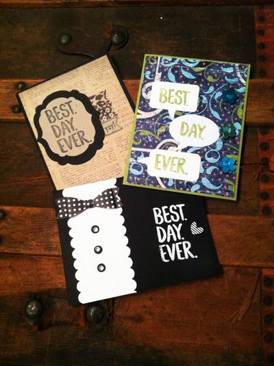 MadAboutPaper - Best Day Ever Set of 3 Or Single