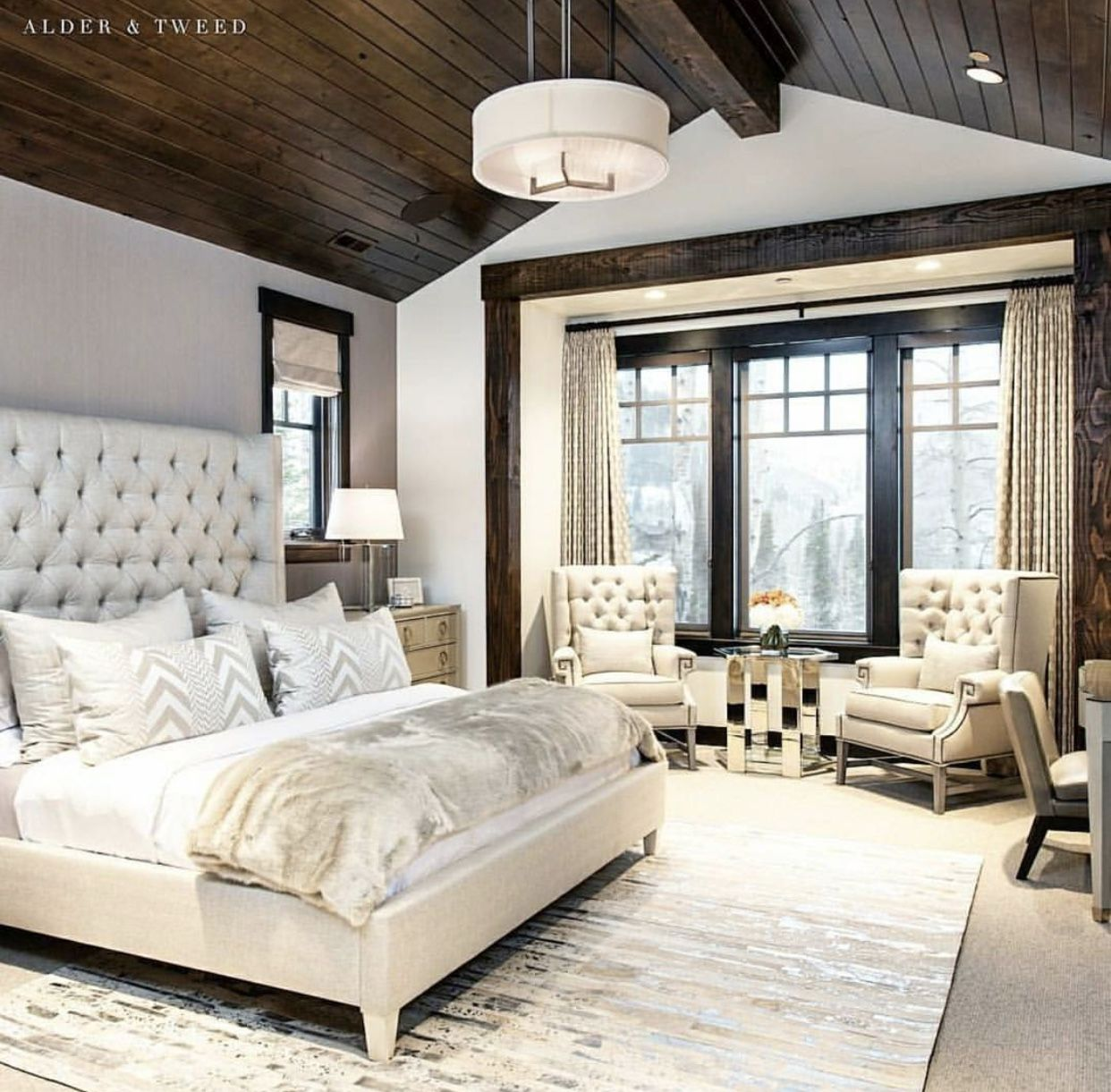 Master bedroom interior design ideas dise os de for Decoracion de habitaciones principales