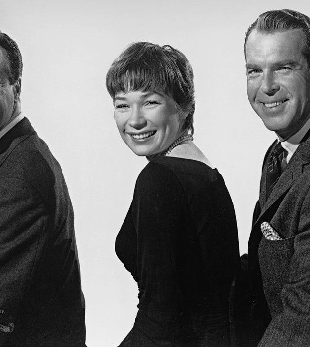 Apartment Film: Jack Lemmon, Shirley MacLaine And Fred MacMurray In The