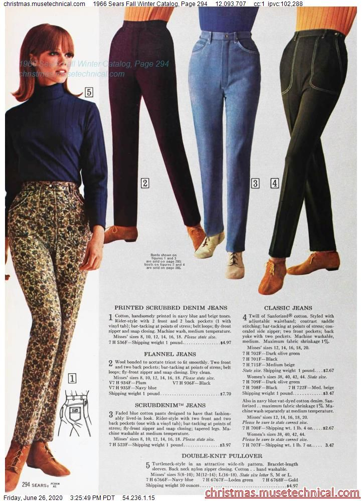 1966 Sears Fall Winter Catalog, Page 294 - Christm