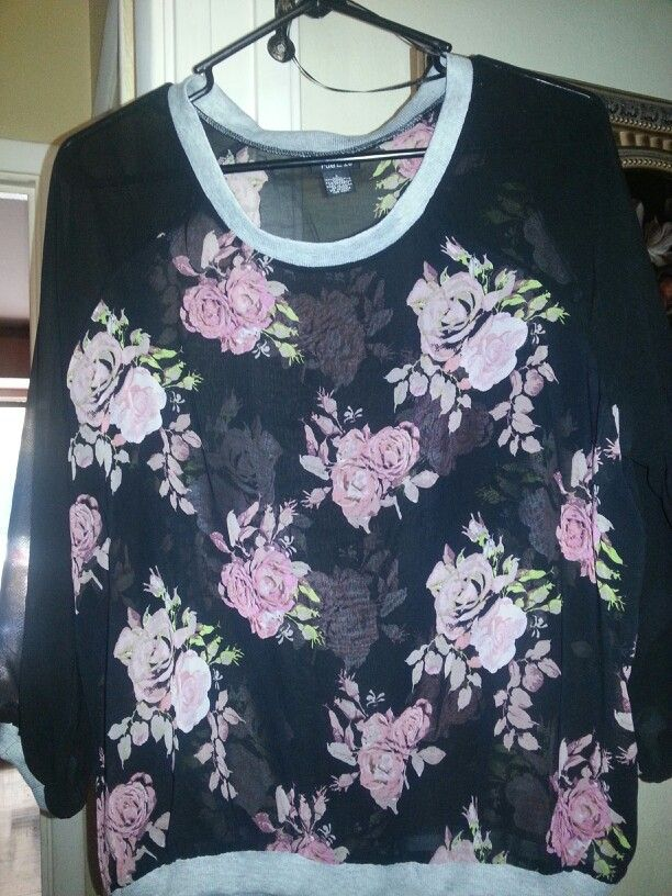 My new Floral top #rue21