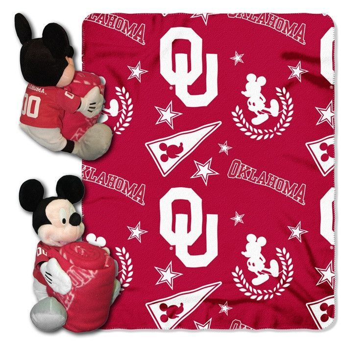 Use this Exclusive coupon code: PINFIVE to receive an additional 5% off the Oklahoma Sooners Mickey Mouse Hugger with Throw at SportsFansPlus.com