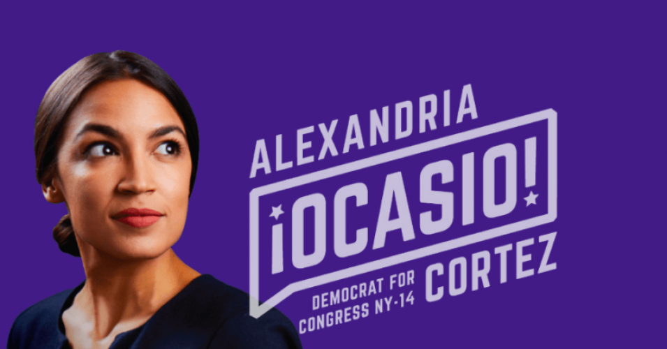 Image result for images of sarcastic view of Ocasio-Cortez