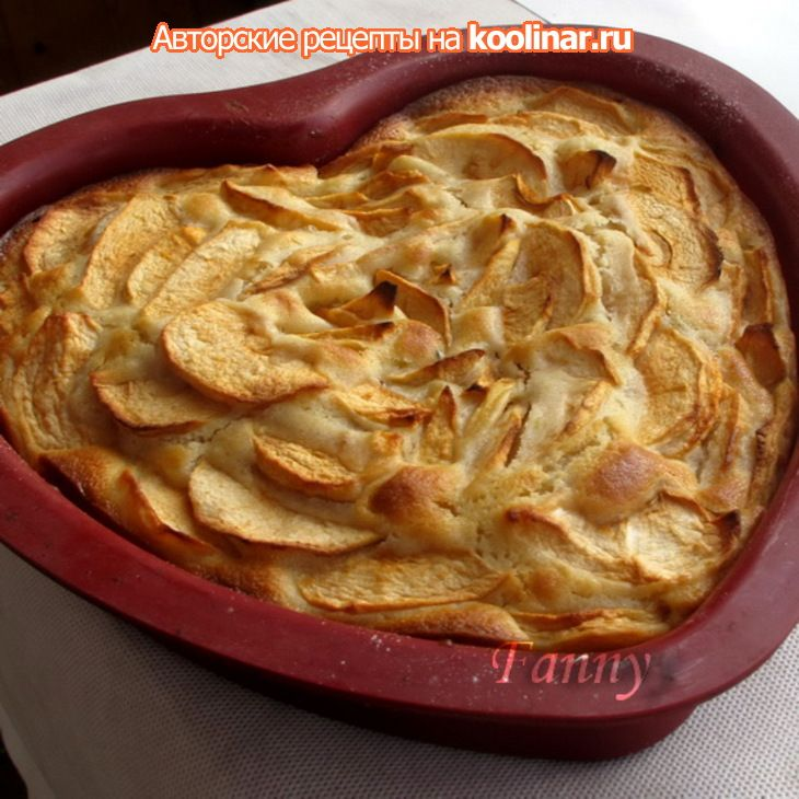 Изумительный яблочный пирог за 5 минут!