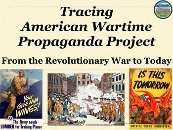 american revolution propaganda essays Propaganda is information that is not objective and is used primarily to influence  an audience  during the era of the american revolution, the american colonies  had a flourishing network of newspapers and printers who  the propaganda  posters were used, because radios and tvs were not very common at that time.