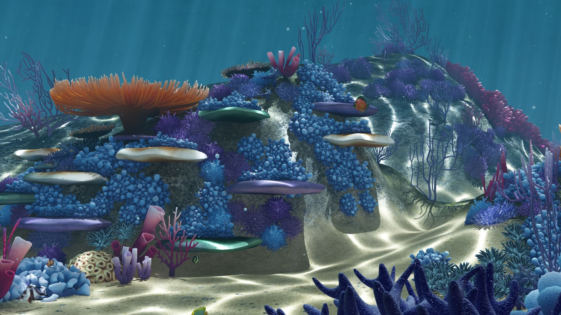 Ocean Floor Coral Reefs Cartoon Underwater Cartoon Underwater Realistic Cartoons