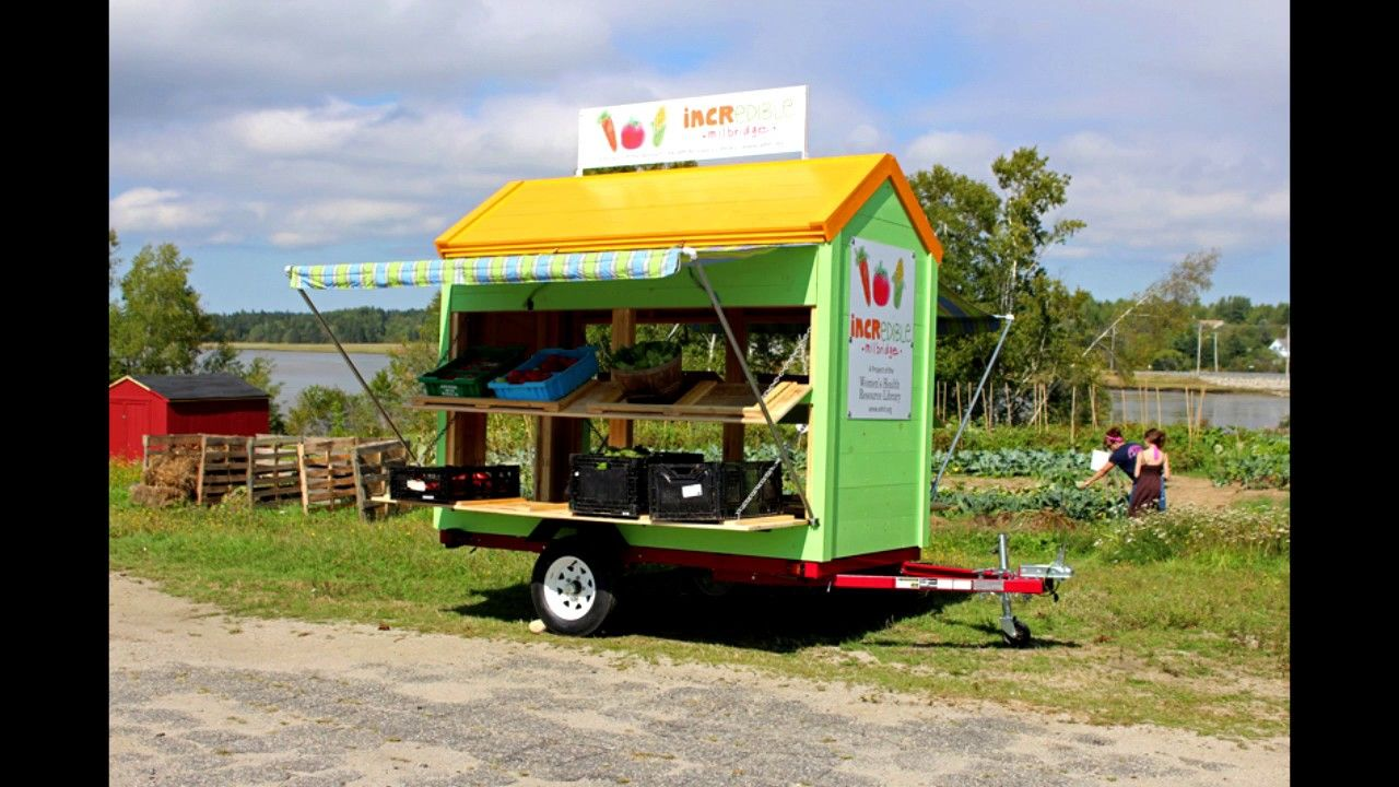 Vendor Trailer Downeast Thunder Creations Vegetable