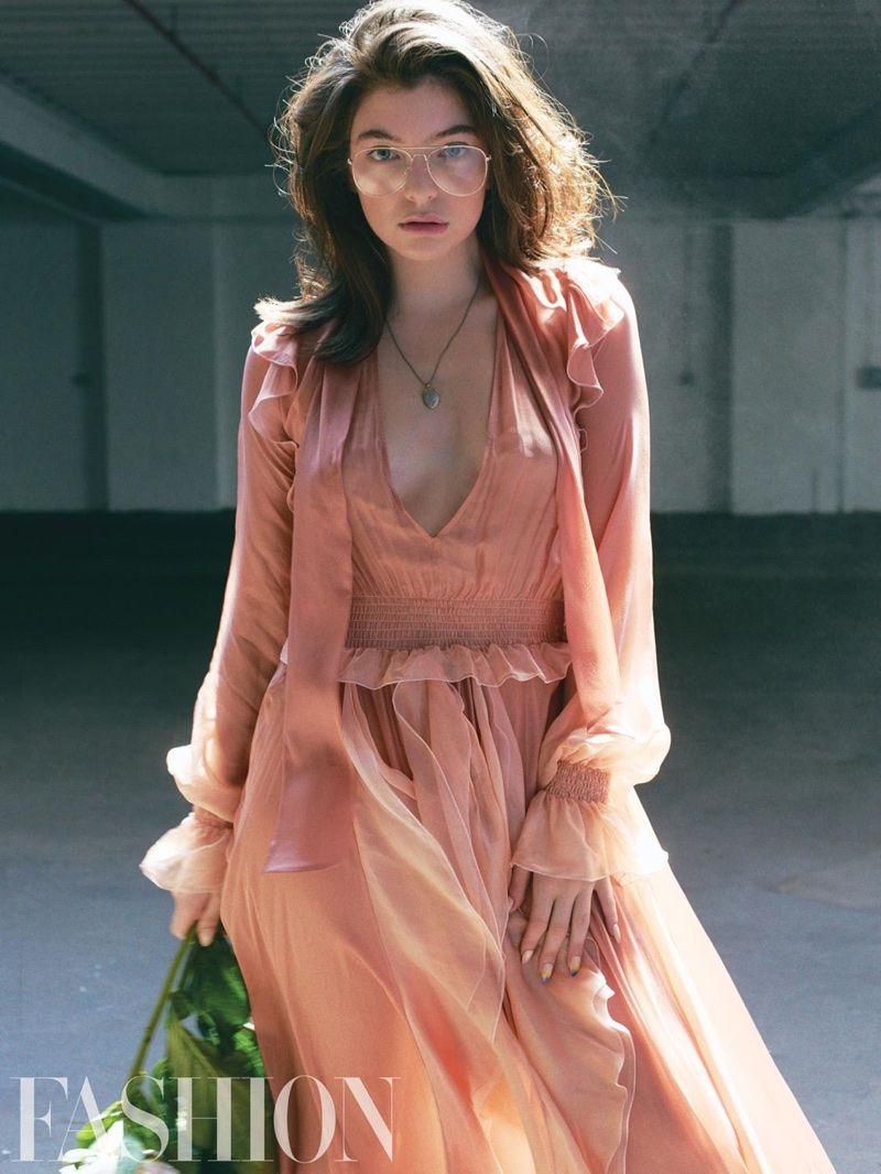 Lorde Fashion Magazine September 2017 Cover Photoshoot