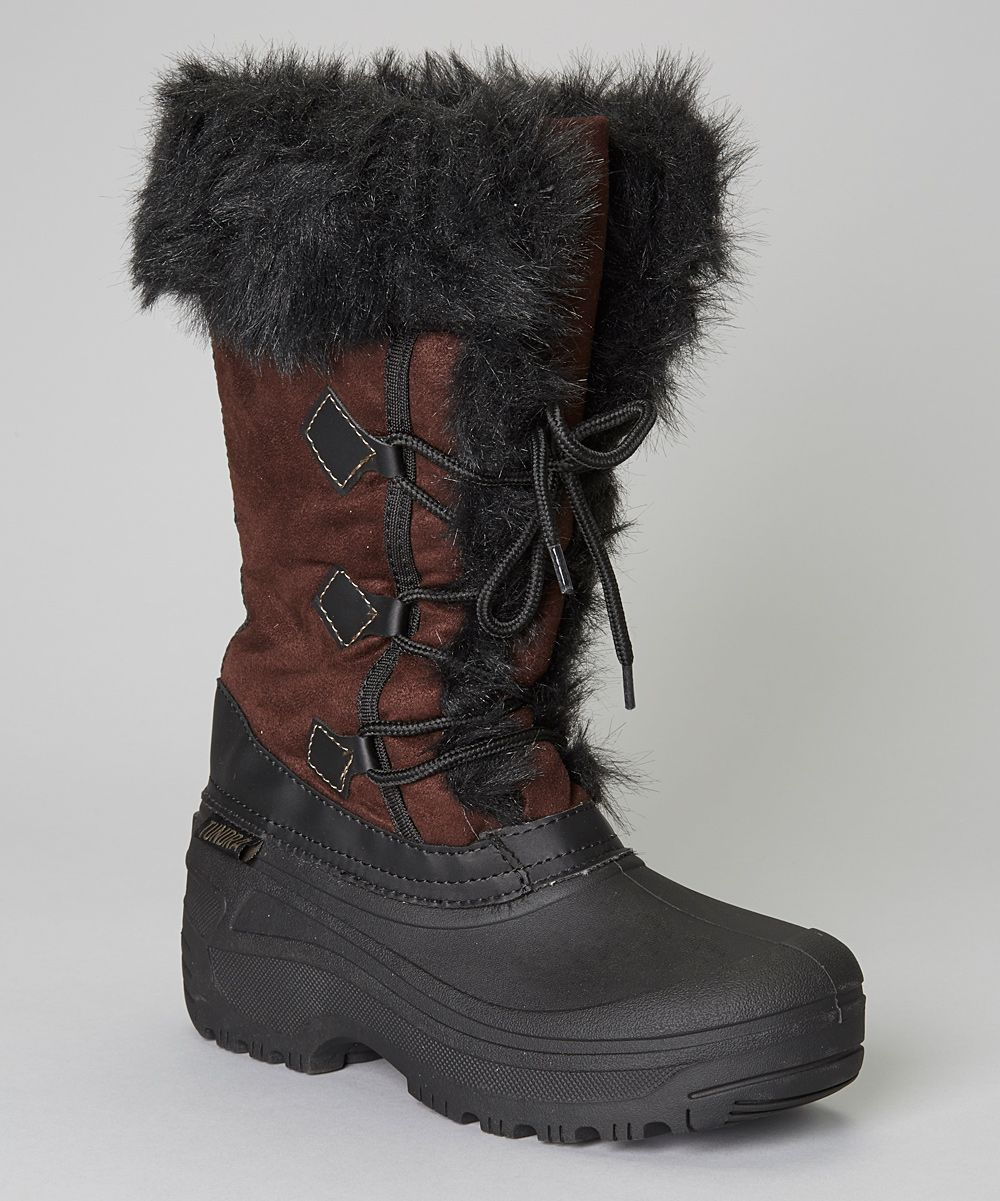 Love this Black & Brown Vancouver Boot - Women by Tundra on
