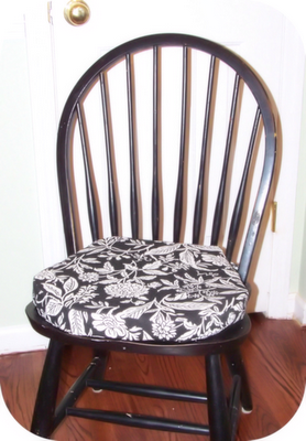 diy seat cushions making these soon printable tutorial as well rh pinterest com chair pads for kitchen chairs seat pads for kitchen chairs amazon