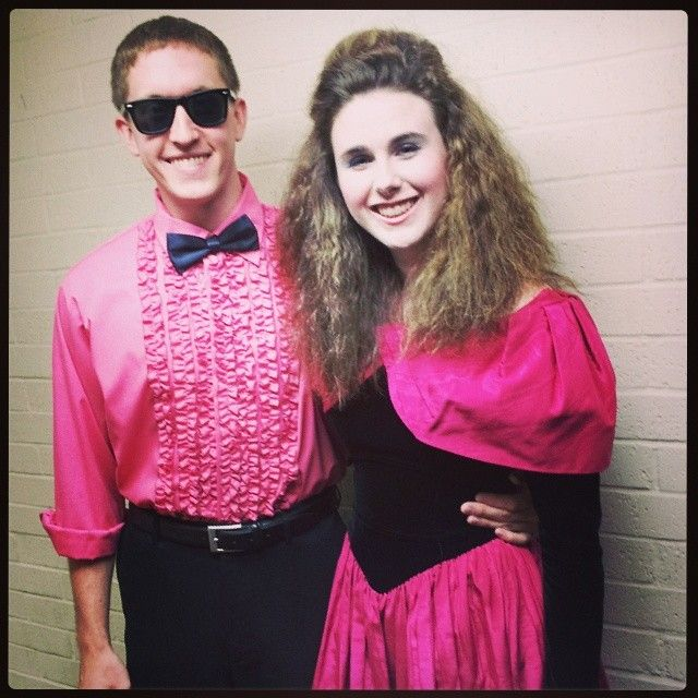 Pin for Later: 101 Totally Rad Halloween Costumes Inspired by the '80s '80s Prom