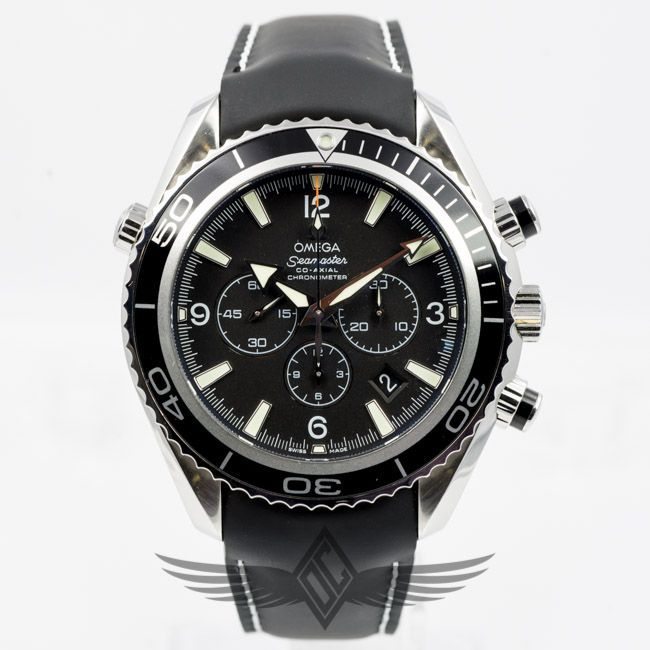 Omega Seamaster Planet Ocean 45mm Chronograph Leather
