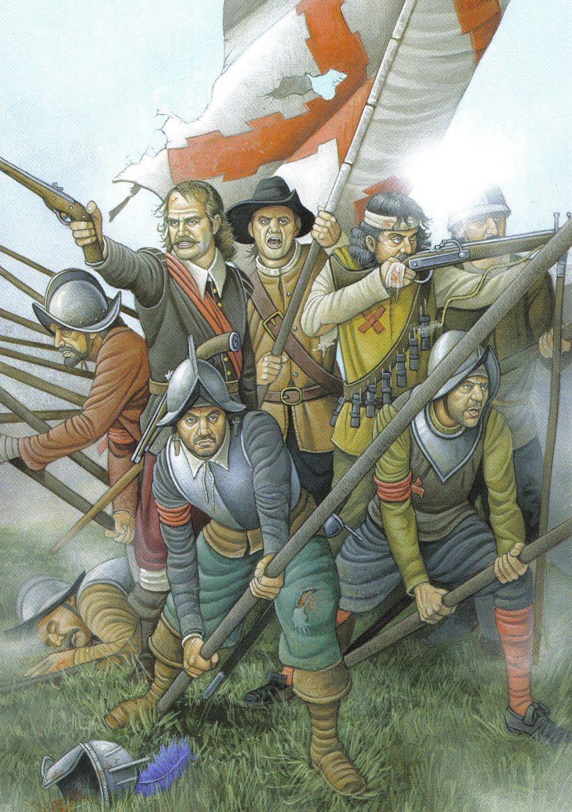 Tercio. Illustration d'Ángel García Pinto.